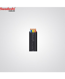 Swadeshi 10 mm²  3 Core Flat Cable (Pack of 100 m)