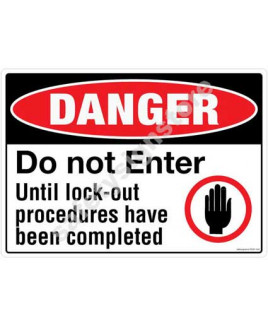 3M Converter 210X297mm Property & Security Signs-PS301-A4V