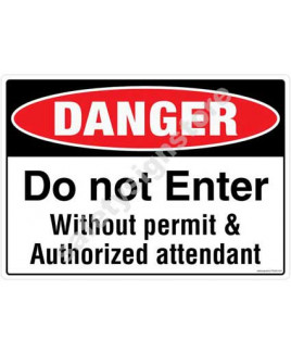 3M Converter 210X297mm Property & Security Signs-PS302-A4V
