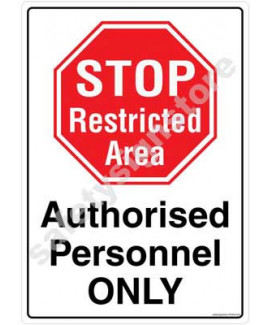 3M Converter 210X297mm Property & Security Signs-PS308-A4V