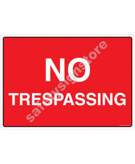 3M Converter 210X297mm Property & Security Signs-PS310-A4V