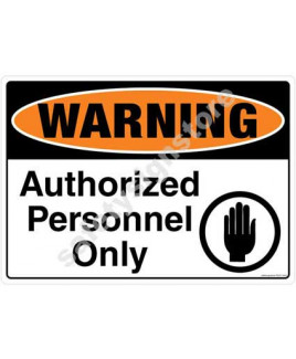 3M Converter 210X297mm Property & Security Signs-PS317-A4V