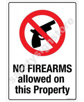 3M Converter 210X297mm Property & Security Signs-PS416-A4V