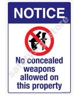 3M Converter 210X297mm Property & Security Signs-PS615-A4V