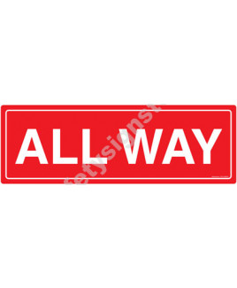 3M Converter 300X900mm Traffic Signs-TR214-3090REF