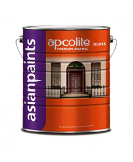 Asian Paints Apcolite Premium Gloss Enamel-Brilliant White-4 Ltr.