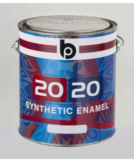 British Paints 20-20 Synthetic Enamel GR-III Signal Red (0.5 Ltr.)