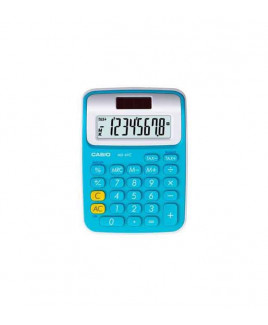 CASIO Mini Desk Calculator-MS-6 VC -BU
