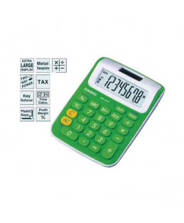 CASIO Mini Desk Calculator-MS-6 VC -GN