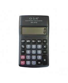 OSR Calculator Pocket 10 Digits -SR-1010