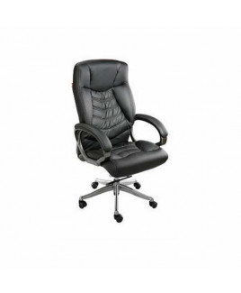GEEKEN Metallic PP Arms High Back Executive Chair-GP-109