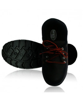 Sunshine Size-10 Low Ankle Safety Shoes with PVC Sole