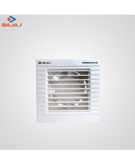Bajaj 150 mm White Colour Exhaust Fan-Maxima DxI G02