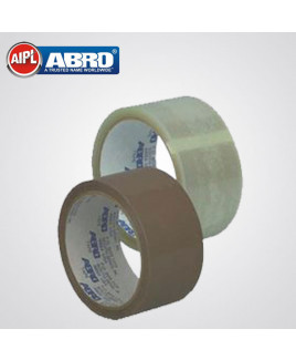 Abro 18mm x 40 mtr  Clear BOPP Adhesive Tape-Pack Of 12