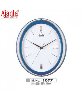 Ajanta 326X287X45mm Sweep Clock-1077