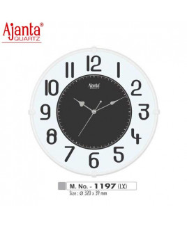Ajanta 320X39mm Sweep Clock-1197-LX