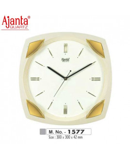 Ajanta 300X300X42mm Sweep Clock-1577