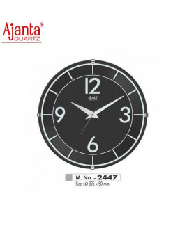Ajanta 325X50mm Sweep Clock-2447