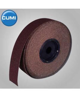Ajax 25mm Coarse Emery Cloth Roll-50m Long