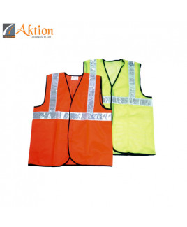 AKTION PVC Reflective Tape Safety Jacket-AK 601