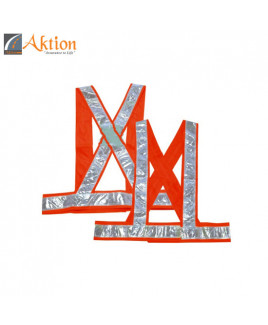 AKTION PVC Reflective Tape Safety Jacket-AK 603