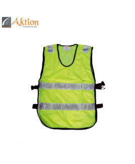 AKTION PVC Reflective Tape Safety Jacket-AK 607
