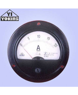 Yokins 754 uA-20A Moving Coil Analog Panel Ammeter-MO 65