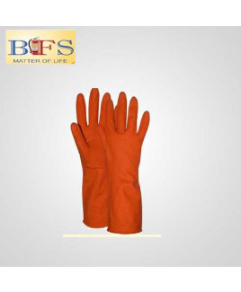 Bombay Safety 12 inch Rubber Gloves Suitable For Chemical Work