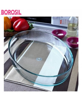 Borosil 0.7 Ltr Oval Baking Dish-ICY22OD0107