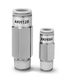 SMC 4mm Male Connector Check Valve-AKH04A-01S