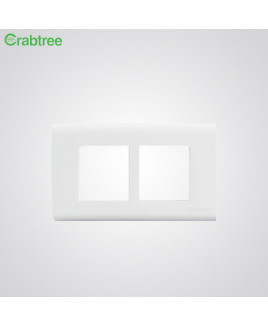 Crabtree Verona 2 M Combined Cover Plate (Pack of-5)-ACVPPCWV02