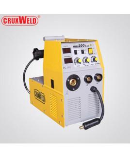 Cruxweld 6.4KVA Single Phase MIG Welding Machine-CWM-MIG200i