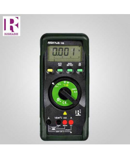 Rishabh Digital LCD Multimeter - Rish multi 13S