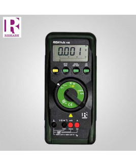 Rishabh Digital LCD Multimeter - Rish multi 14S