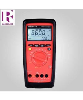 Rishabh Digital LCD Multimeter- 616
