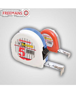 Freemans Basik 3m With Belt Clip Pocket Steel Tape