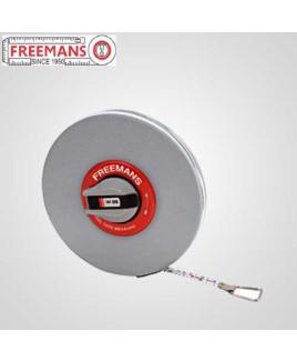Freemans 13mm Blade Width 50m Leatherette Steel Measuring Tape