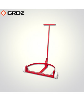 Groz 180 kg/210 litre Low Profile Drum Trolley-TRL/55