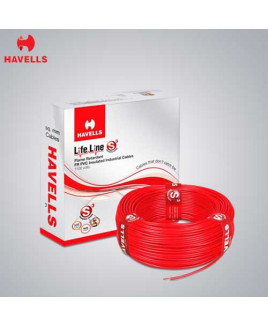 Havells 0.75mm² Single Core PVC Insulated Flexible Domestic Wire-WHFFDNWA1X75