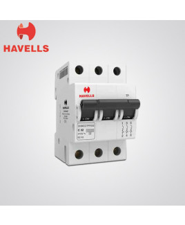 Havells Three Pole 6-32A MCB-DHMGCTPF006-032