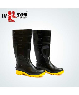 Hillson Size-7 Gumboot Double Density Safety  Shoe-Torpedo 211
