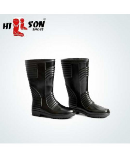 Hillson Size-9 Gumboot Double Density Safety  Shoe-Welsafe
