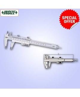 "Insize 0-130mm/0-5"" Vernier Caliper-1233-130"