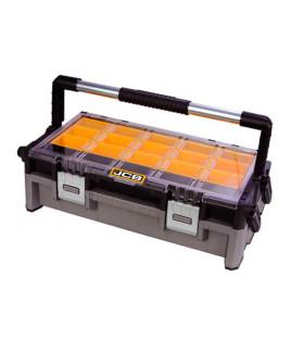 JCB 2 tray cantilever organizer tool box-22025053