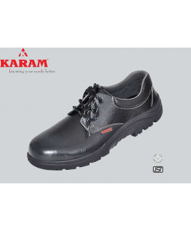 Karam Size-10 Deluxe Workmans Choice Safety Shoe-FS 02