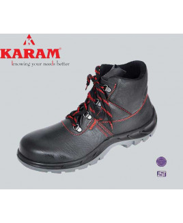Karam Size-10 Ankle protection Shoe-FS 21