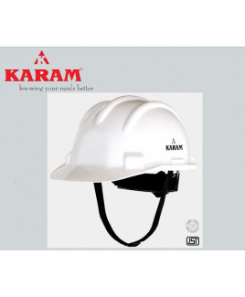 Karam Ratchet Type Yellow Safety Helmet-PN 521