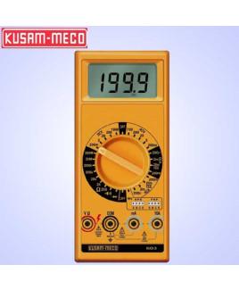 Kusam Meco 3½ Digit 1999 Counts Large LCD Display Digital Multimeter-603