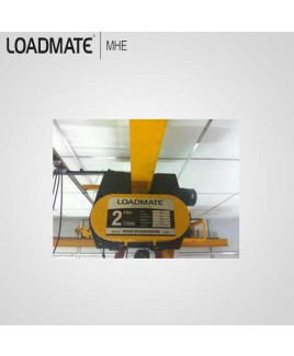 Loadmate 2 Ton Capacity Electric Wire Rope Hoist-HD 0204