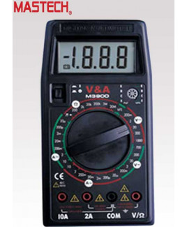 Mastech Digital LCD Multimeter - M 3900
